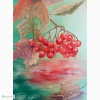 Картина Калина над водой