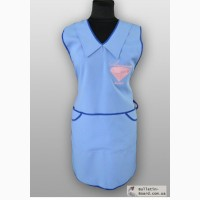 Корпоративная одежда для продавцов. Фартуки для работников магазинов, супермаркетов