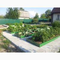 Высокие грядки для органического земледелия 0, 17х1х2, 4, 6м