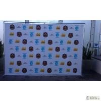 Фотостенды, brand wall, press wall от 2400 грн