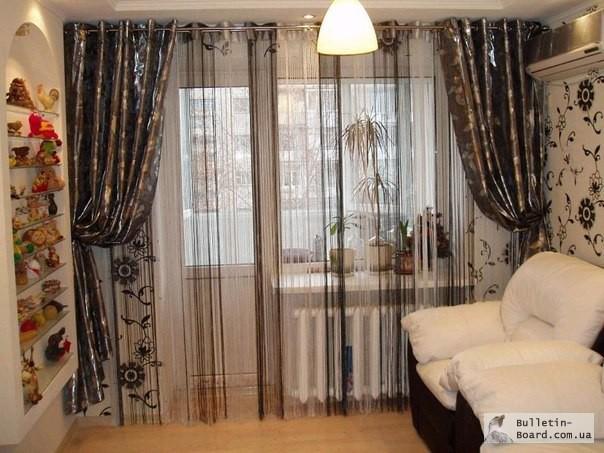 Портьеры шторы дизайн фото