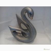 Статуэтка Лебедь - керамика