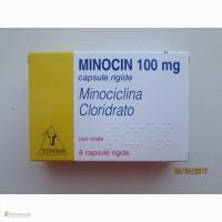 Продам Миноцин (миноциклин) капс. 100мг, 8 шт