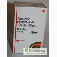 Продам Вотриент Votrient табл. 400мг 30, Novartis