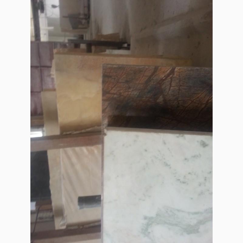 Фото 20. Мрамор натуральный : Слябы, Плитка. Фонтан, станок для обработки мрамора или гранита