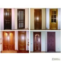 Двери филенчатые межкомнатные.