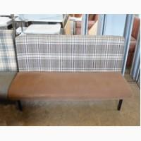 Продам диван б/у ткань коричневый клетка для кафе, бара, ресторана