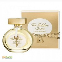 Antonio Banderas Her Golden Secret туалетная вода 80 ml. Антонио Бандерас Хёр Голден Секре