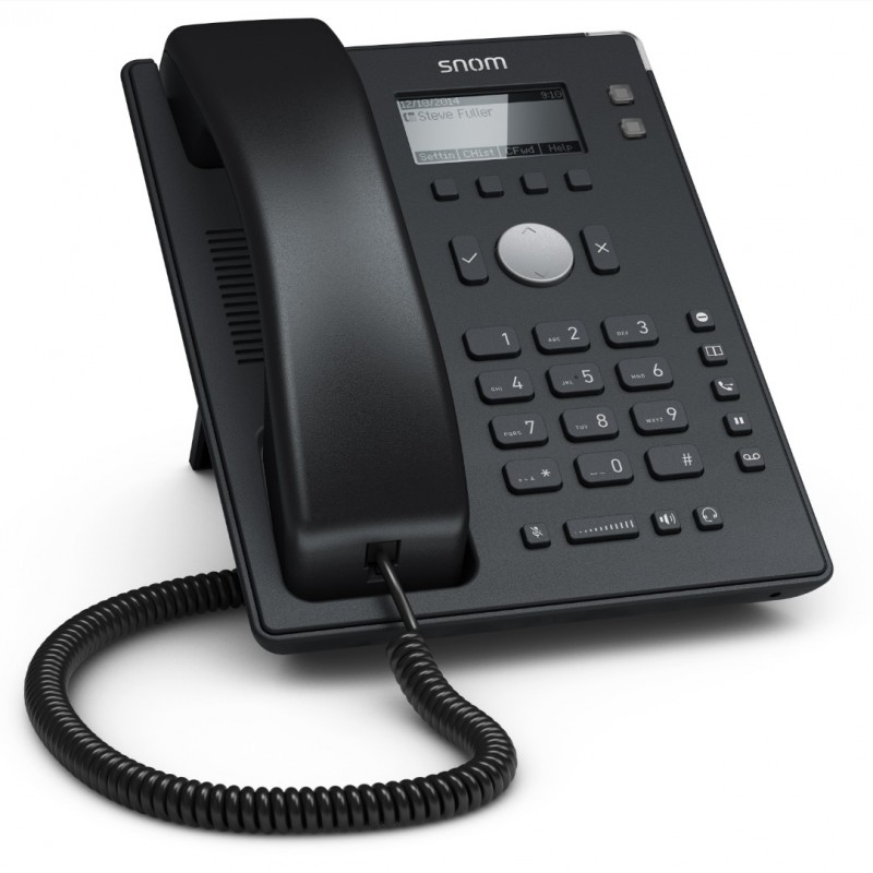 Snom D120, sip телефон 2 SIP аккаунта, PoE