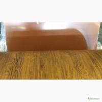 Профильный лист под дерево, профнастил с рисунком дерева на заводе, профильный лист дерево