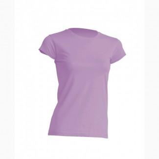 Стильная женская футболка лавандового цвета
