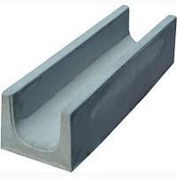 Лоток бетонний з решіткою та кріпленням