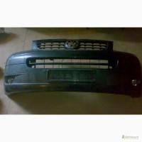 Продам оригинальный бампер с ПТФ VW Transporter 5