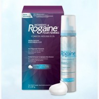 Womans Rogaine Foam. Пена регейн 5% миноксидил для женщин. Один флакон 60мл (2мес.)