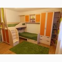 Изготовление шкафов-купе для детской комнаты от производителя под заказ