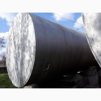 Емкости металлические, резервуары, баки 20, 25 и 50 м. куб. Реактор