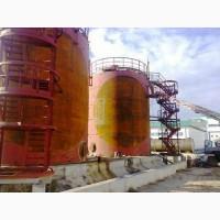 Резервуары для растительного масла, аммиачной воды, бензина объемом от 56 до 5000 м3