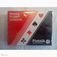 Карты Piatnik Bridge, Rummy, Canasta