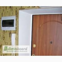 Установить откосы на входную дверь