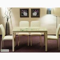 Стеклянный кухонный стол Damar ( 100 х 60 см) польской фирмы Signal