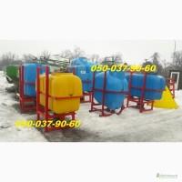 Имеются польские навесные опрыскиватели ОП-600/800/1000 литров с 14 и 16 метровой штангой