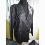 Оригинальная стильная женская кожаная куртка ECHTES LEDER. Лот 181