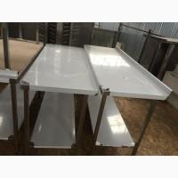 Столы производственные из пищевой нержавеющей стали для кафе