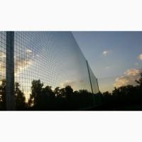 Сетка заградительная капроновая для ограждения стадионов, кортов, футбольных полей