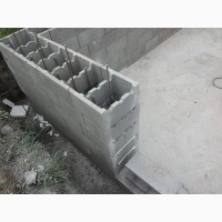 Бетонный Блок Несъемной Опалубки 500х200х200 мм