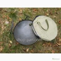 Сковорода из диска бороны c крышкой и чехлом для мангала жарки гриль
