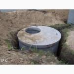 Выгребная яма из ЖБИ колец или кирпича под ключ в Херсоне. Земельные работы