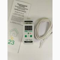 Терморегулятор цифровой двухпороговый на дин-рейку DR 35-16 3кВт