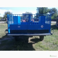 Трап Тележка ТТ 1С для перевозки свиней и КРС