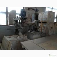 Цех для обработки мрамора, гранита : оборудование четыре станка, слябы мраморные 450 шт