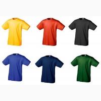 Цветные футболки в ассортименте