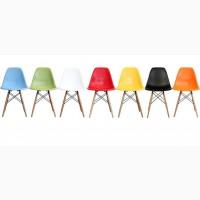 Стул Тауэр Вуд, пластик, деревянный, цвет в ассортименте