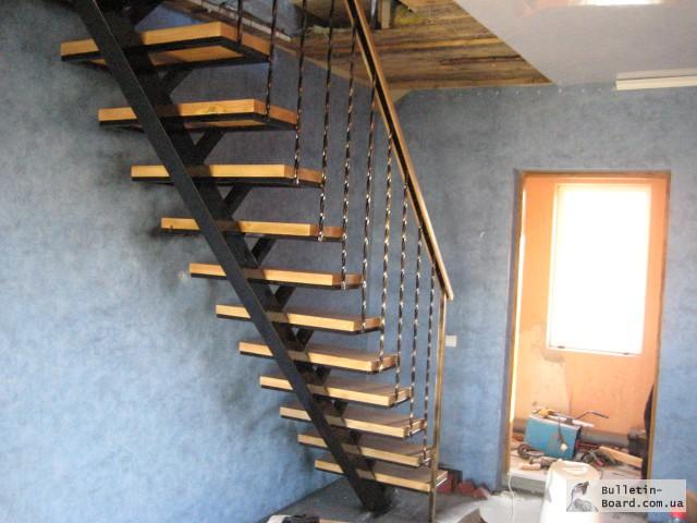 Лестница в гараж своими руками 915