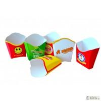 Упаковка для ресторанов ФАСТ-ФУД: для картошки фри, гамбургеров, упаковка для в