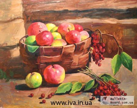 Фото 2. Обучение рисованию взрослых в мини-группах Днепроетровска