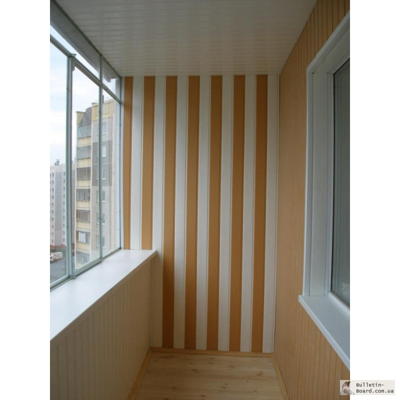 Балкон в панельном доме своими руками