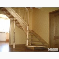 Изготовление лестниц, дверей из натурального дерева