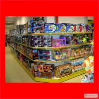 Рассрочка! Стеллажи, оборудование для детских товаров, игрушек, питания