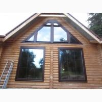 Панорамные окна из алюминия. Панорамное окно в дом