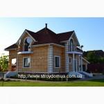 Строительство домов по канадской каркасной технологии в Харькове из сип панелей