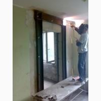 Усиление дверных, оконных проемов, несущих стен, плит перекрытий в Харькове