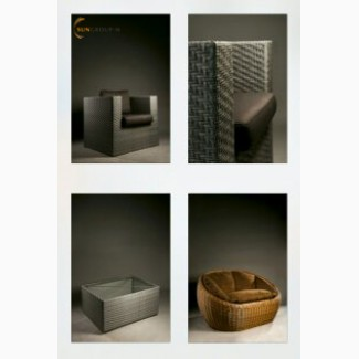 Эксклюзивная плетённая мебель из искусственного ротанга. Цена производителя