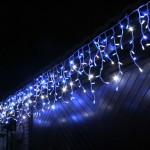 Светодиодная гирлянда бахрома, наружные гирлянды, новогодняя иллюминация