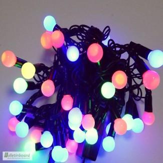 Хорошие новогодние подарки, светодиодные гирлянды шарики
