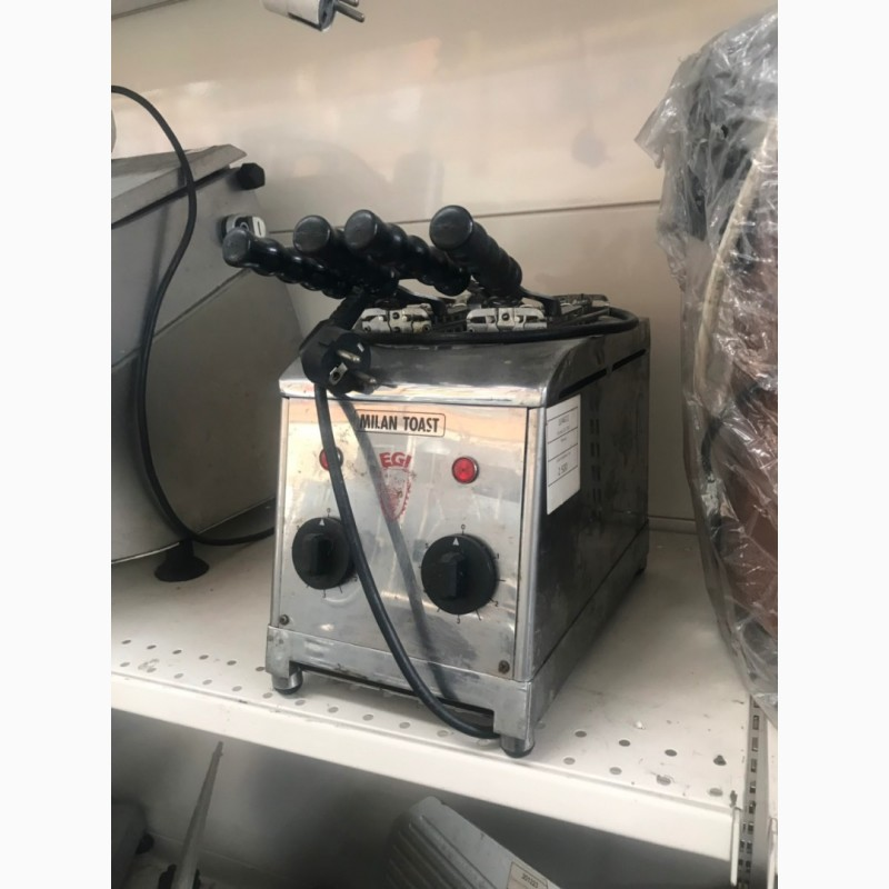 Фото 3. Продам бу профессиональный тостер с зажимами Milantoast