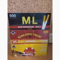 ML; Golden Trip; CASINO. Гильзы сигаретные
